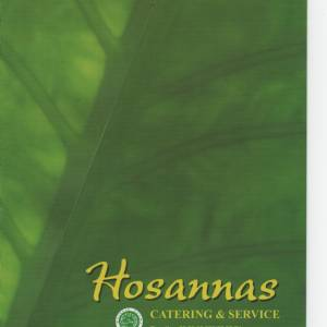 Hosanna's Catering