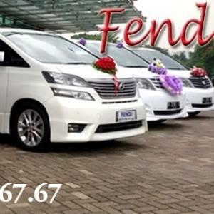 Fendi Wedding Car