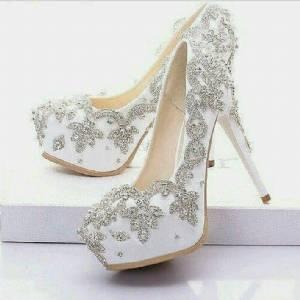 Calista Ramelan Wedding Shoes
