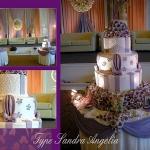 Justin Wedding & Birthday Cake