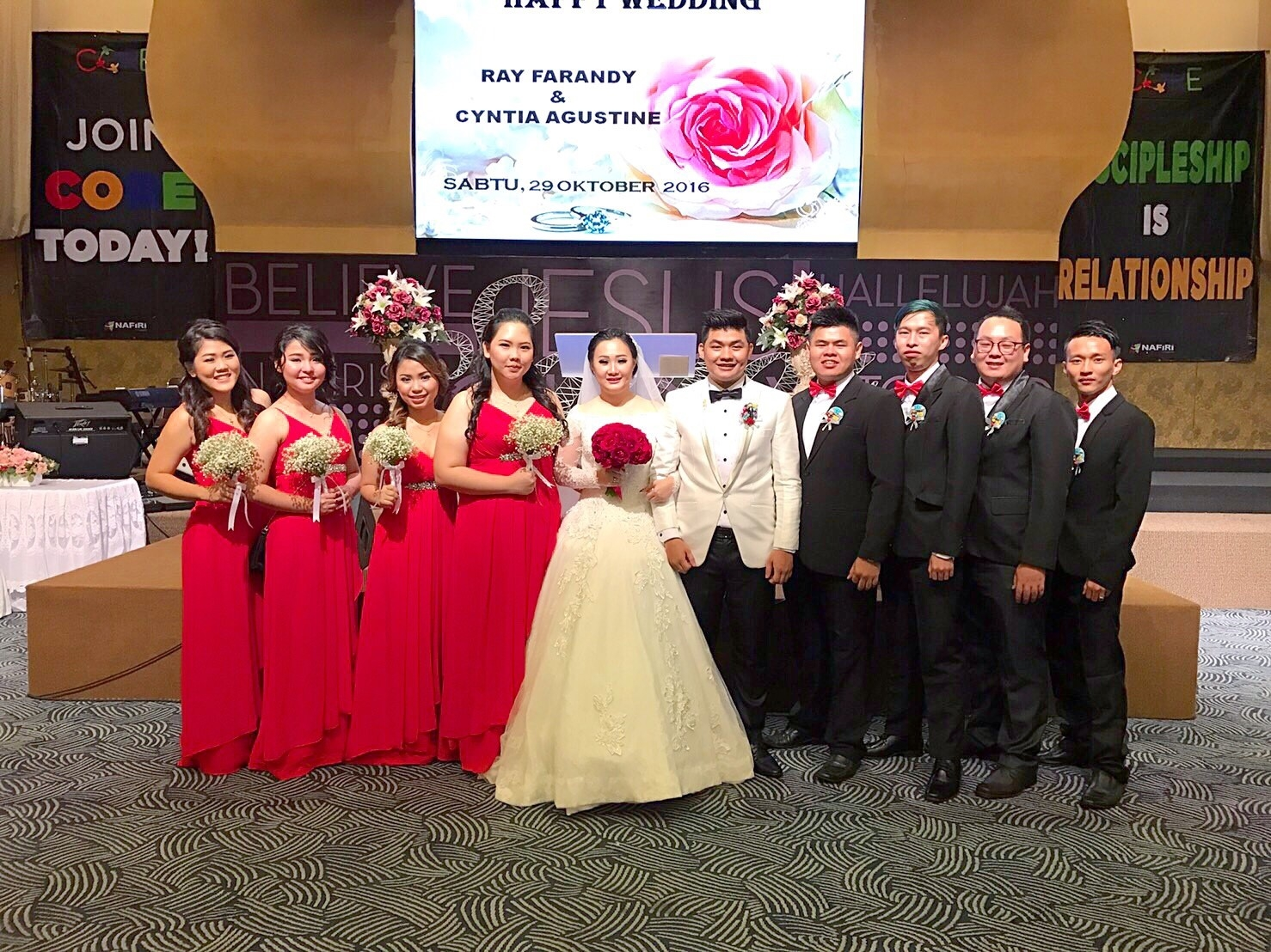 Ray & Cynthia Wedding 5