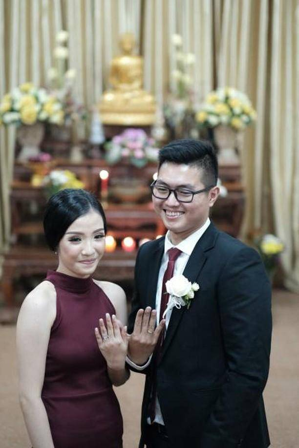 The wedding of Brandon & Ivani 1