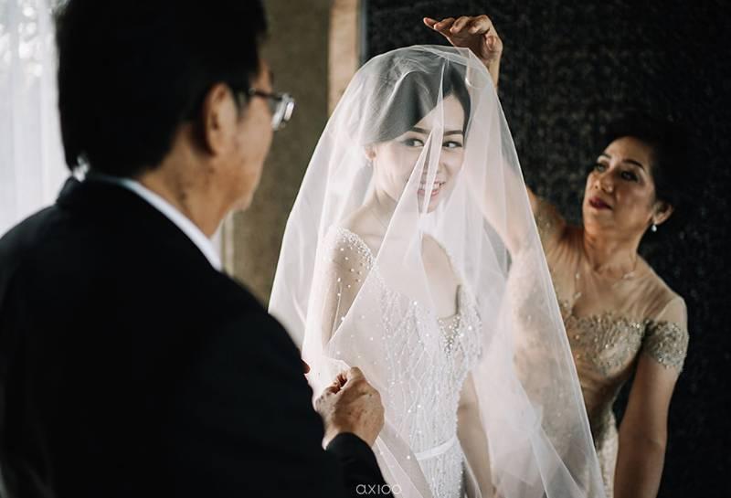 Detik-detik jelang pernikahan bersama mama & papa