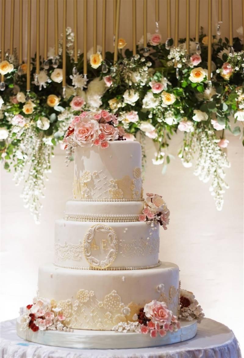 Wedding cake yang menarik