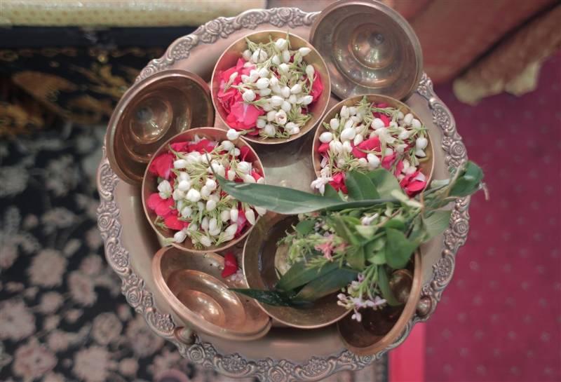 Kembang setaman untuk upacara adat