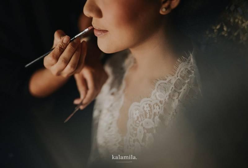 Dimakeup oleh Jasmine Lishava, makeup artist favorit Ayu
