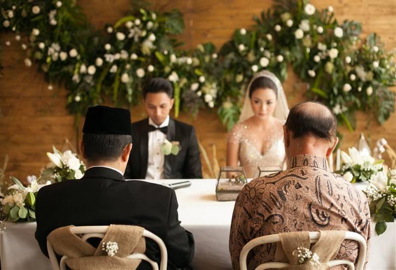 Ditta dan Yudha sengaja hanya gelar akad nikah
