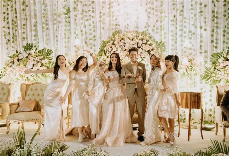 Bersama bridesmaid