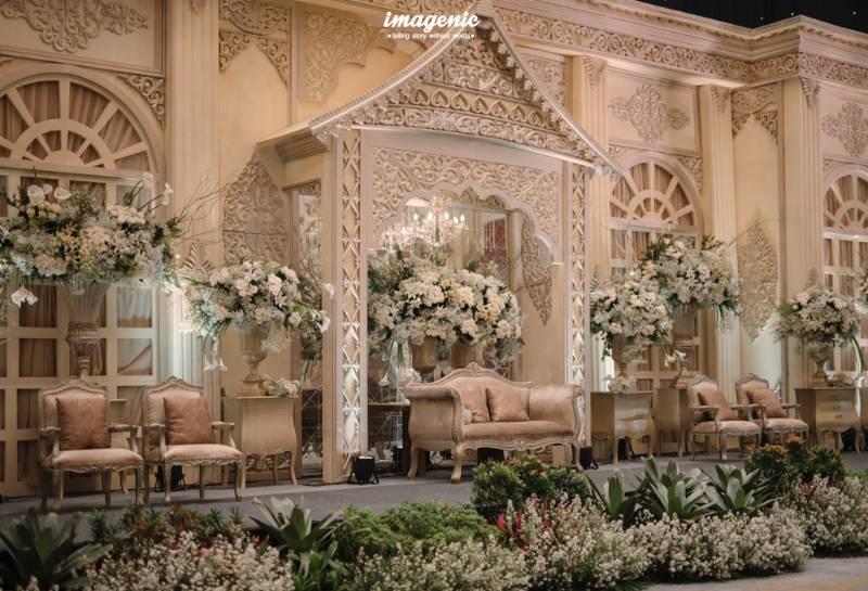 Dekorasi Minang yang modern dan elegan