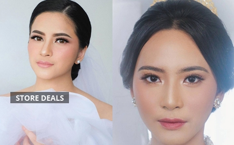 Get Special 50% Discount International Make-Up & Hairdo Starting From IDR 3.799.050