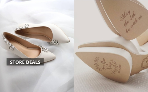 Promo Discount 5% Wedding Shoes Starting From IDR 950.000