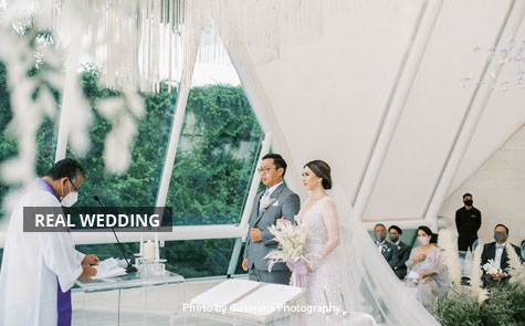 Hope, Courage and Prayer As A Theme of Tannesa & Melvin Wedding