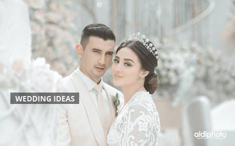 Meriahnya Pesta Pernikahan Sore Hari Ali Syakieb dan Margin Wieheerm