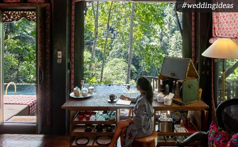 Uniknya Pengalaman Berbulan Madu di Capella Ubud, Bali