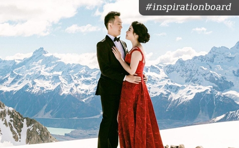 A Beautiful Pre-Wedding Photo Session in New Zealand