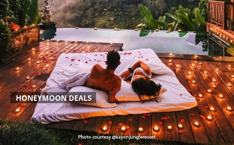 Honeymoon Packages The Kayon Jungle Resort 3D/2N Starting From IDR 6.700.000