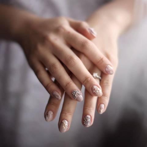 Wedding Nail Art by Nailsterior