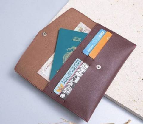 Envelope Leather Pouch