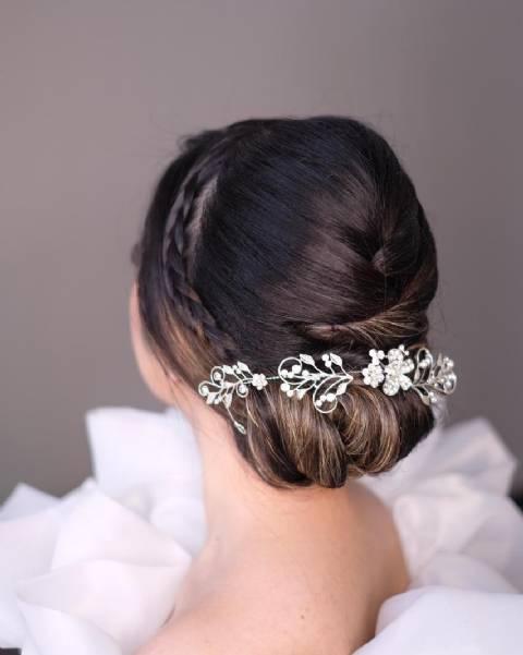 International Wedding Hair Do By Cheryl Hairdo Weddingku Com