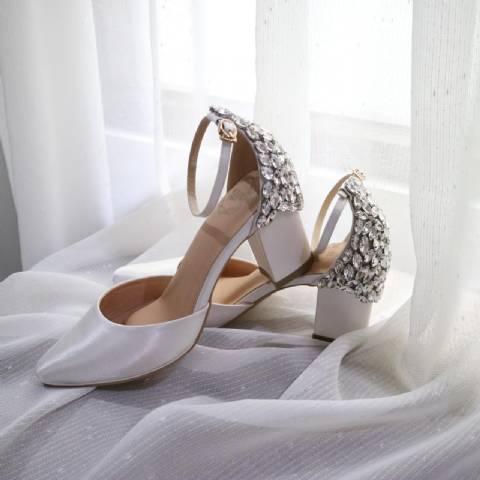 White Elegance Custom Sole