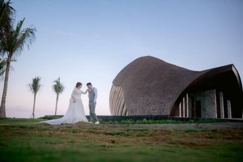 Wedding Package Apurva Chapel at The Apurva Kempinski Bali for 50 Pax