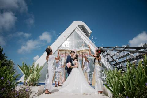 Wedding Package Dove at Jumana Bali Ungasan Resort for 2 Pax (Ucap Janji)