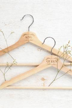 Wooden Hanger Set