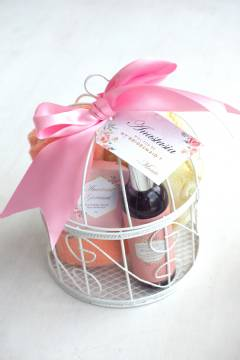 Thank You Bridesmaid Gift Hamper Set For Her Basket