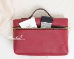 Leather Pouch With Handle