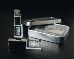Customized Engrave Crystal USB