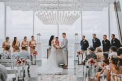 Ocean Cliff Wedding at Garden Lawn
