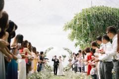 Sunset Cliff Edge Wedding  at Cliff-Edge Cabana and Private Villa Reception