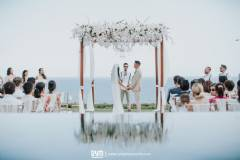 Intimate Clifftop Villa Wedding at Pawana Villa