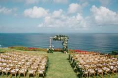 Sunset Clifftop Villa Wedding at Selatan Lawn