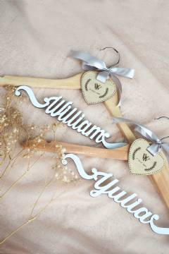 Wooden Name Hanger